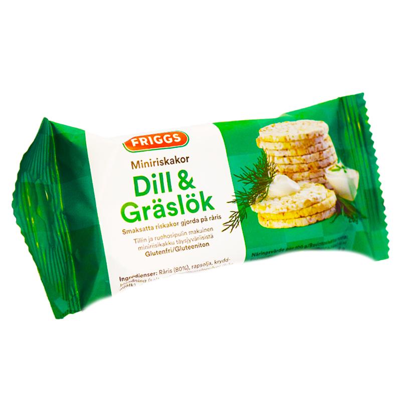 Miniriskakor Dill & Gräddfil - 49% rabatt