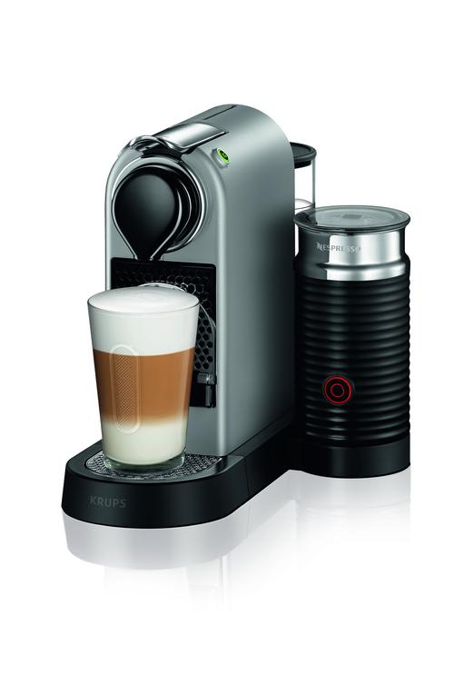 Nespresso Citiz & Milk, 1,0 L. , Silver Kapselmaskin -