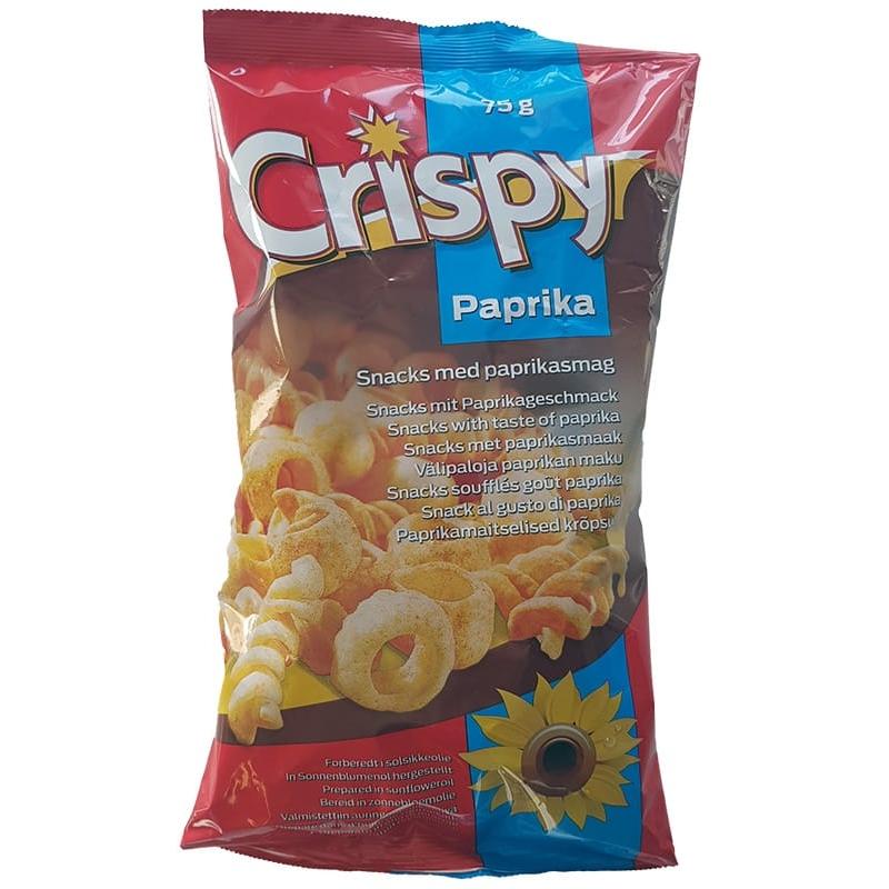 Crispy Snacks Paprika 75 gram