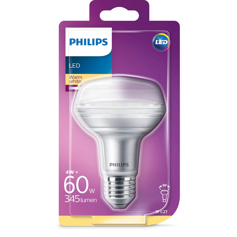 Philips LED REFL. 60W E27 VV 36D ND