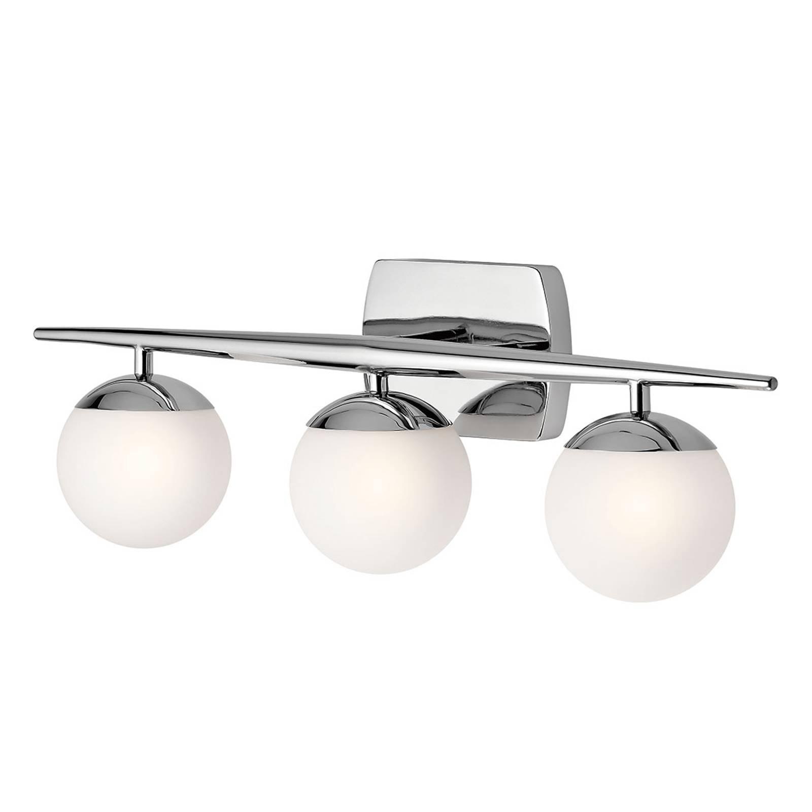 LED-vegglampe til bad Jasper, 3 lyskilde