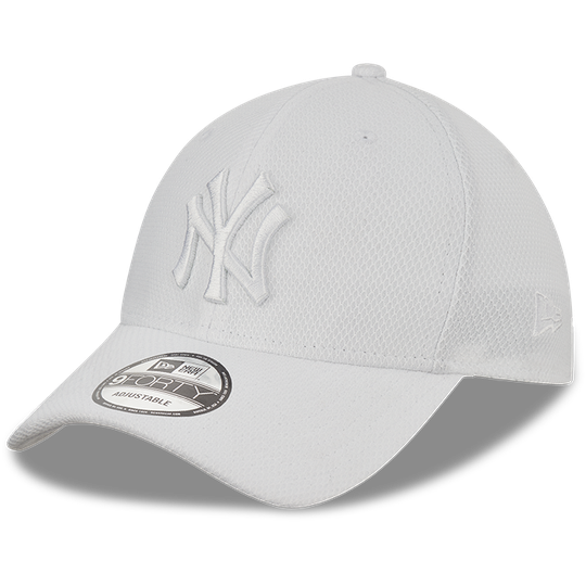 Diamond Era 9FORTY New York Yankees, White/White