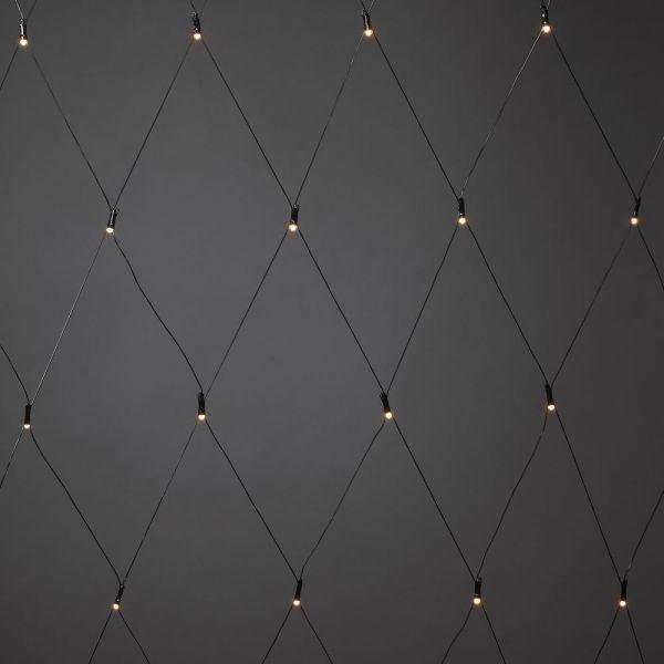 Konstsmide 3779-800 LED-verkko 64 LED-valoa 2 x 2 m