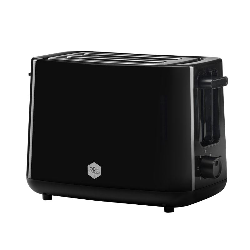 OBH Nordica - Daybreak Toaster - Black (2260)