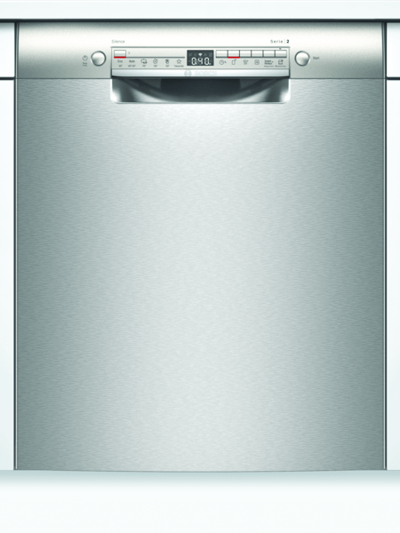 Bosch Smu2hti64s Serie 2 Underbygg. Diskmaskin - Rostfritt Stål