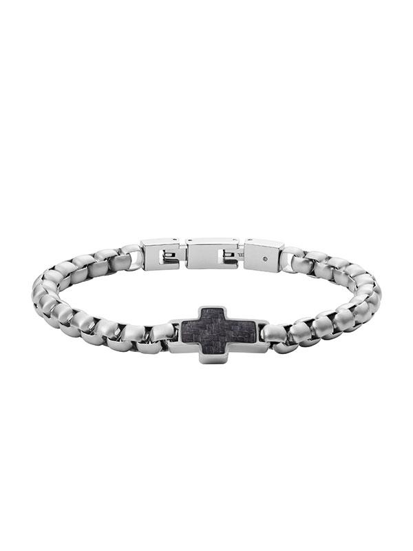 FOSSIL Armband Mens Dress - Silver JF03854040