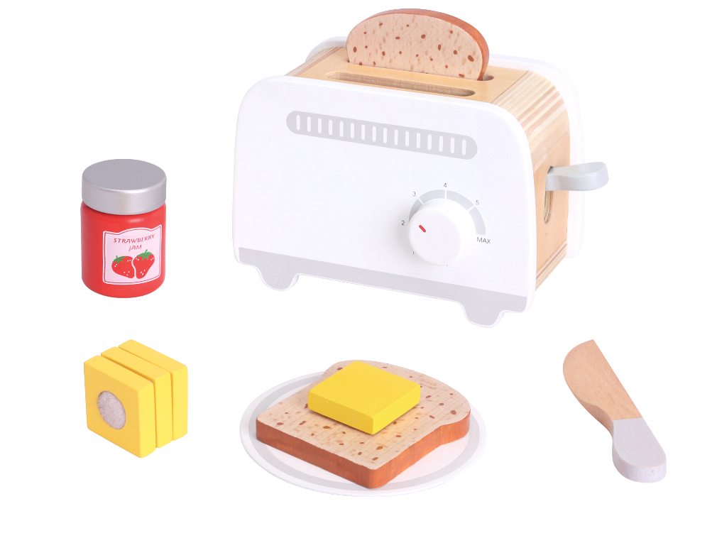 Small Wood - Toaster - Grey (L40218)