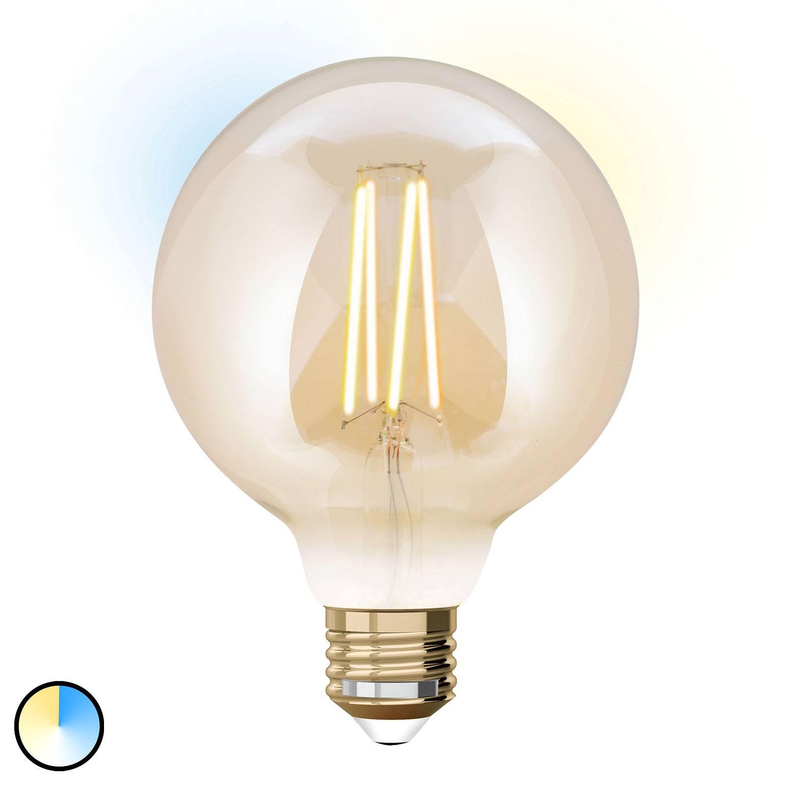 iDual-LED-globe-lamppu E27 9W, laajen.osa, 9,5cm