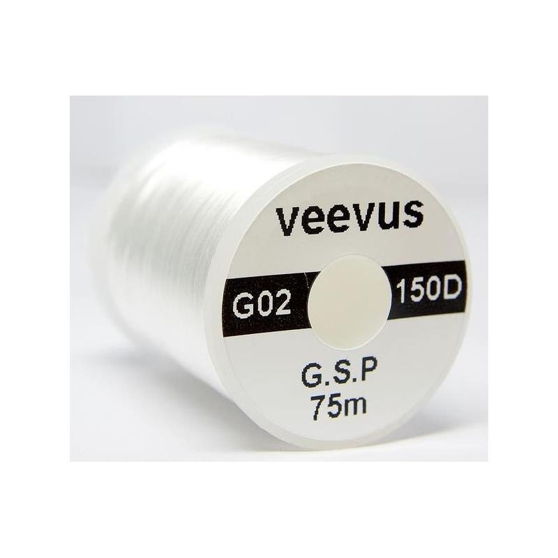 Veevus G.S.P bindetråd White 150D Råsterk Gel Spun Polyethylene