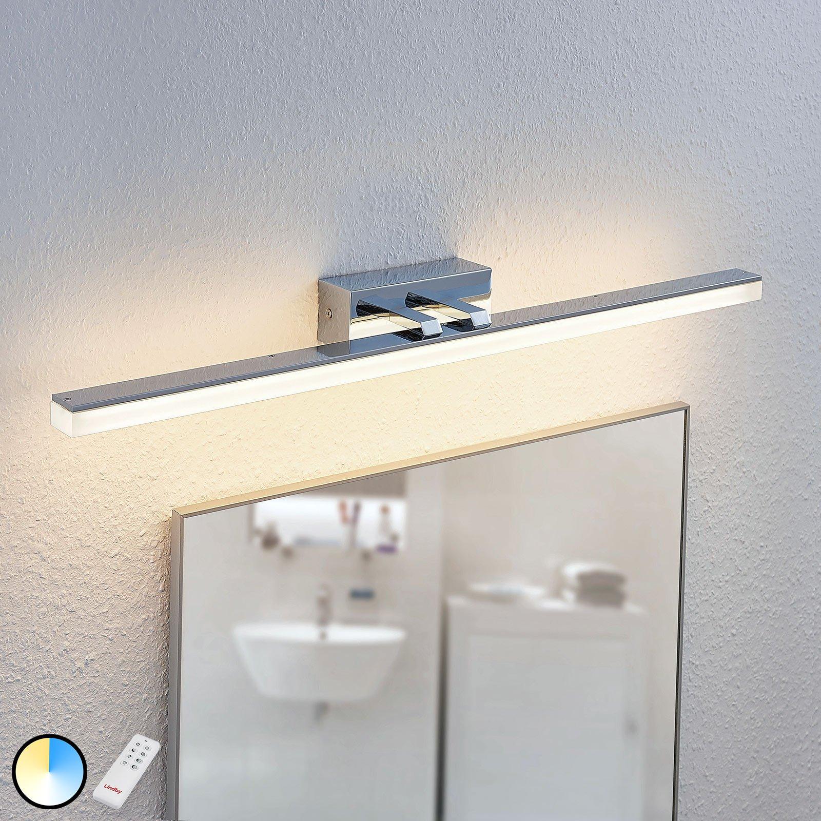 LED-speillampe Bernie CCT, IP44, 75 cm