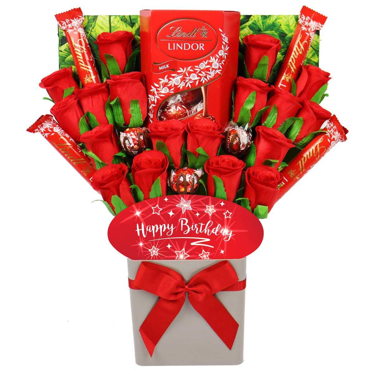 The Happy Birthday Lindt Lindor Chocolate Bouquet
