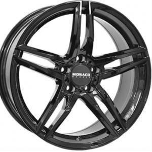 Monaco GP1 Gloss Black 7.5x17 5/112 ET45 B66.5