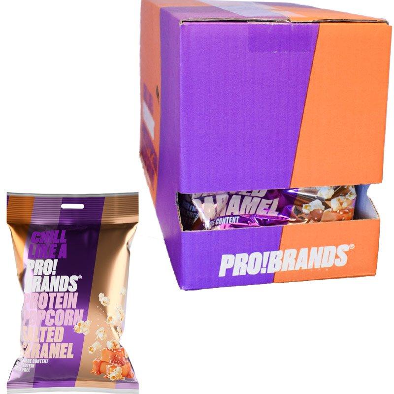 Proteiinipopcornit Salted Caramel 8kpl - 33% alennus