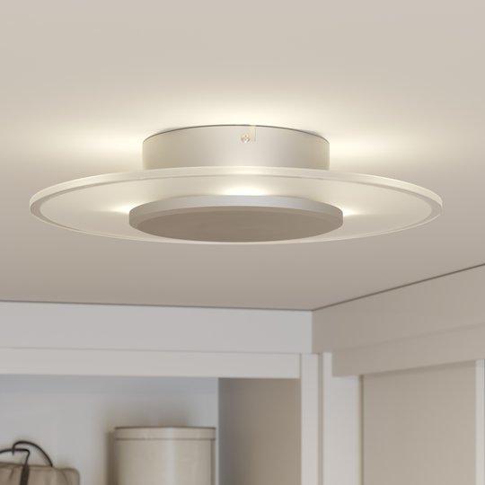 Muotoiltu LED-kattovalaisin Dora, himmennettävä