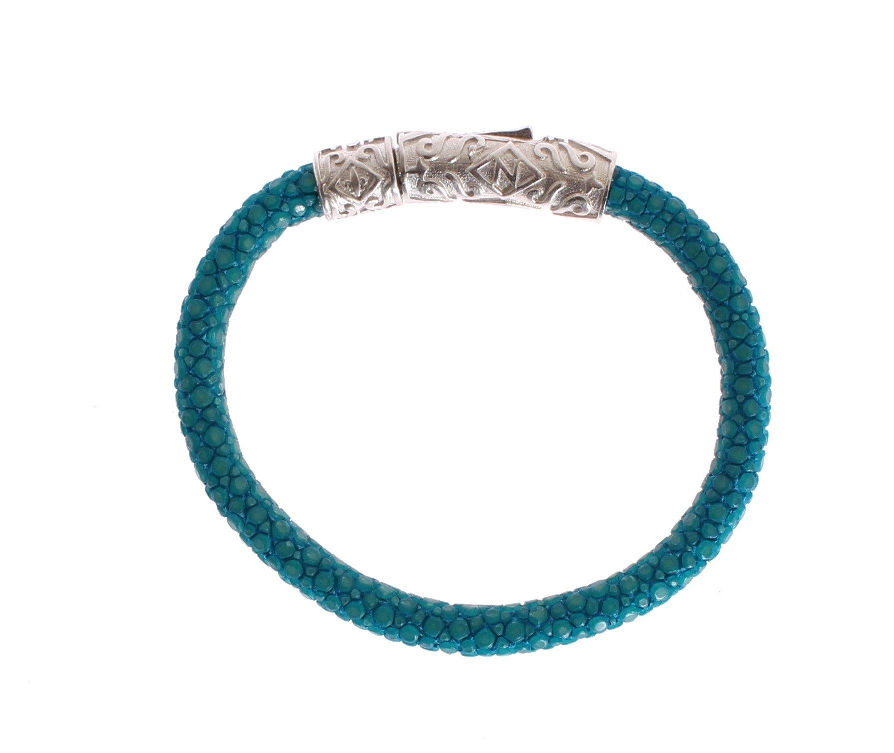 Nialaya Women's Stingray 925 Bracelet Blue NIA20263 - S