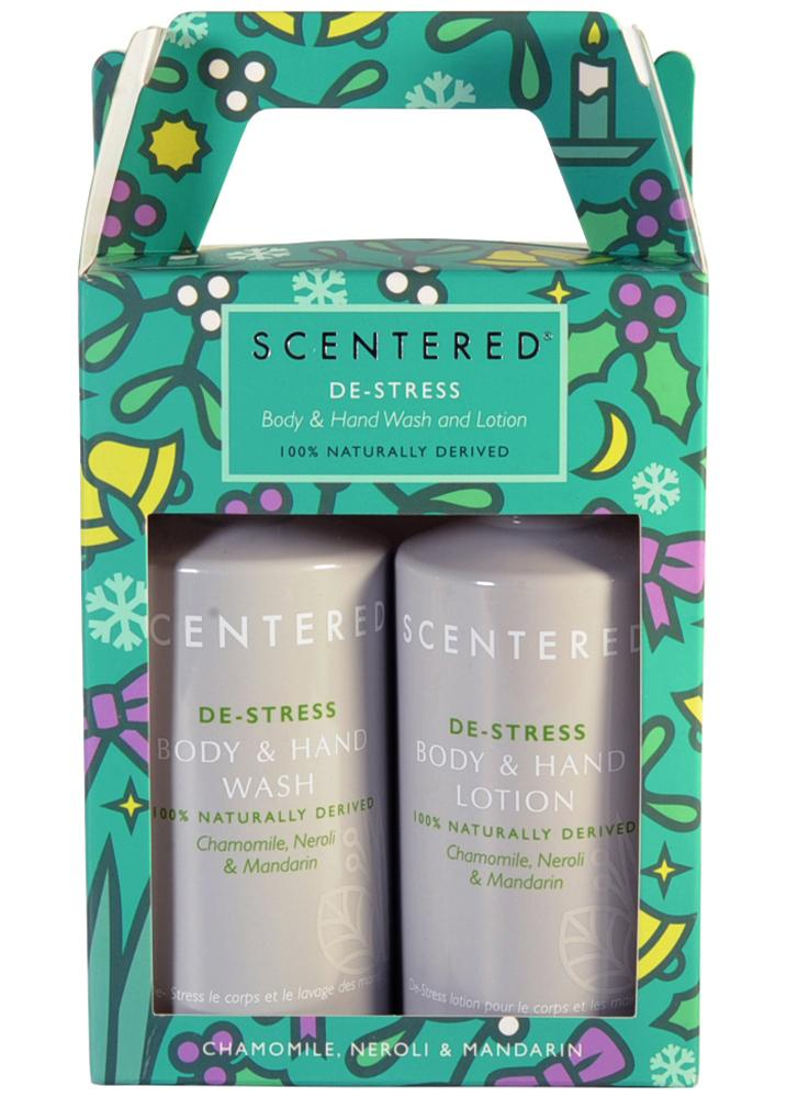 Scentered De-Stress Wash and Lotion Duo