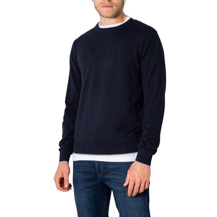 Armani Exchange Men's Sweater Blue 273175 - blue L