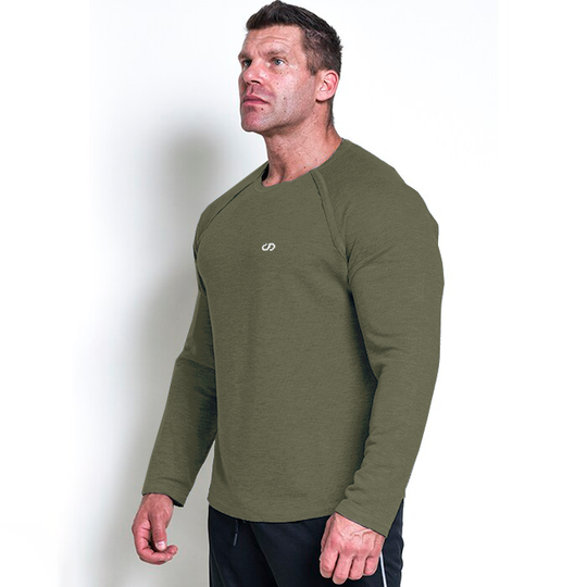 Chained L/S Thermal Sweat, Olive