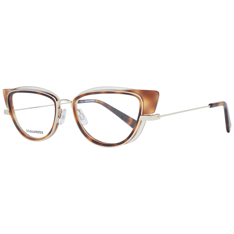 Dsquared² Women's Optical Frames Eyewear Brown DQ5303 54056