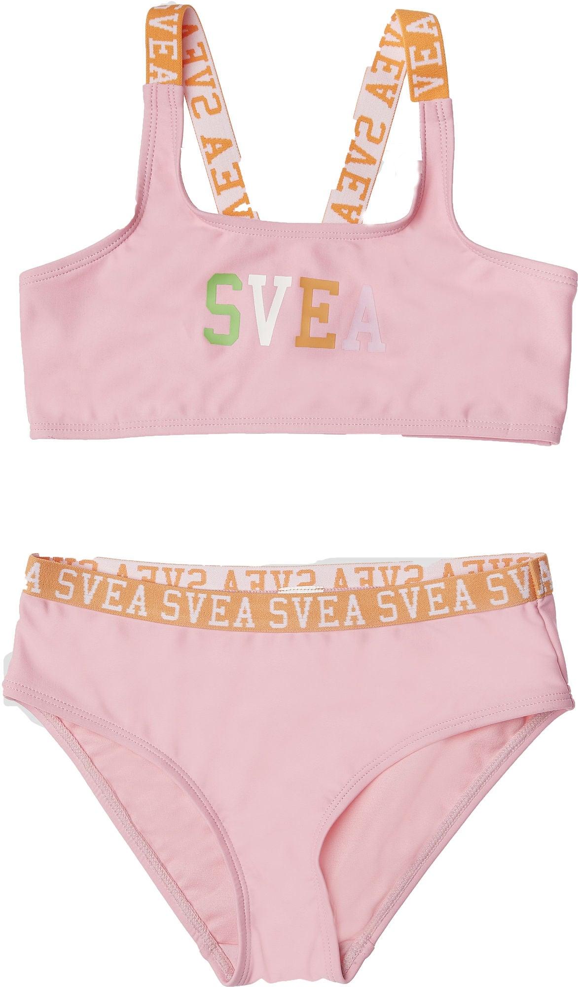 Svea Sportig Bikini, Pink, 110