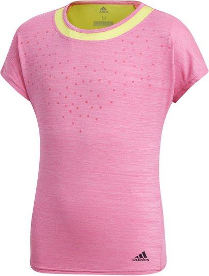 Adidas Girls Dotty Tee Treningsgenser, Pink 140