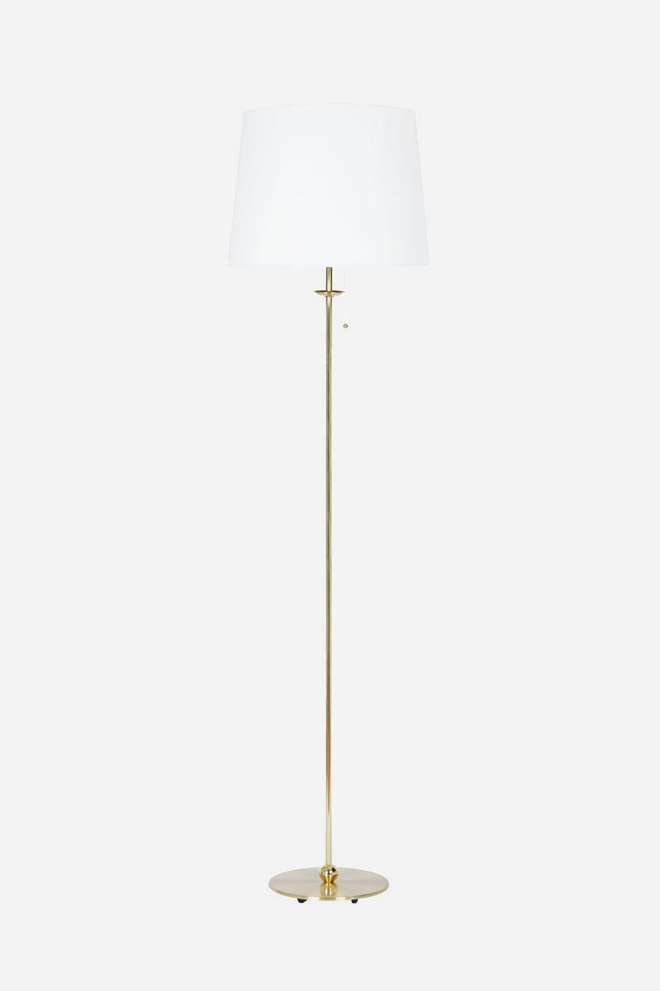 Golvlampa Uno 155 cm mässing