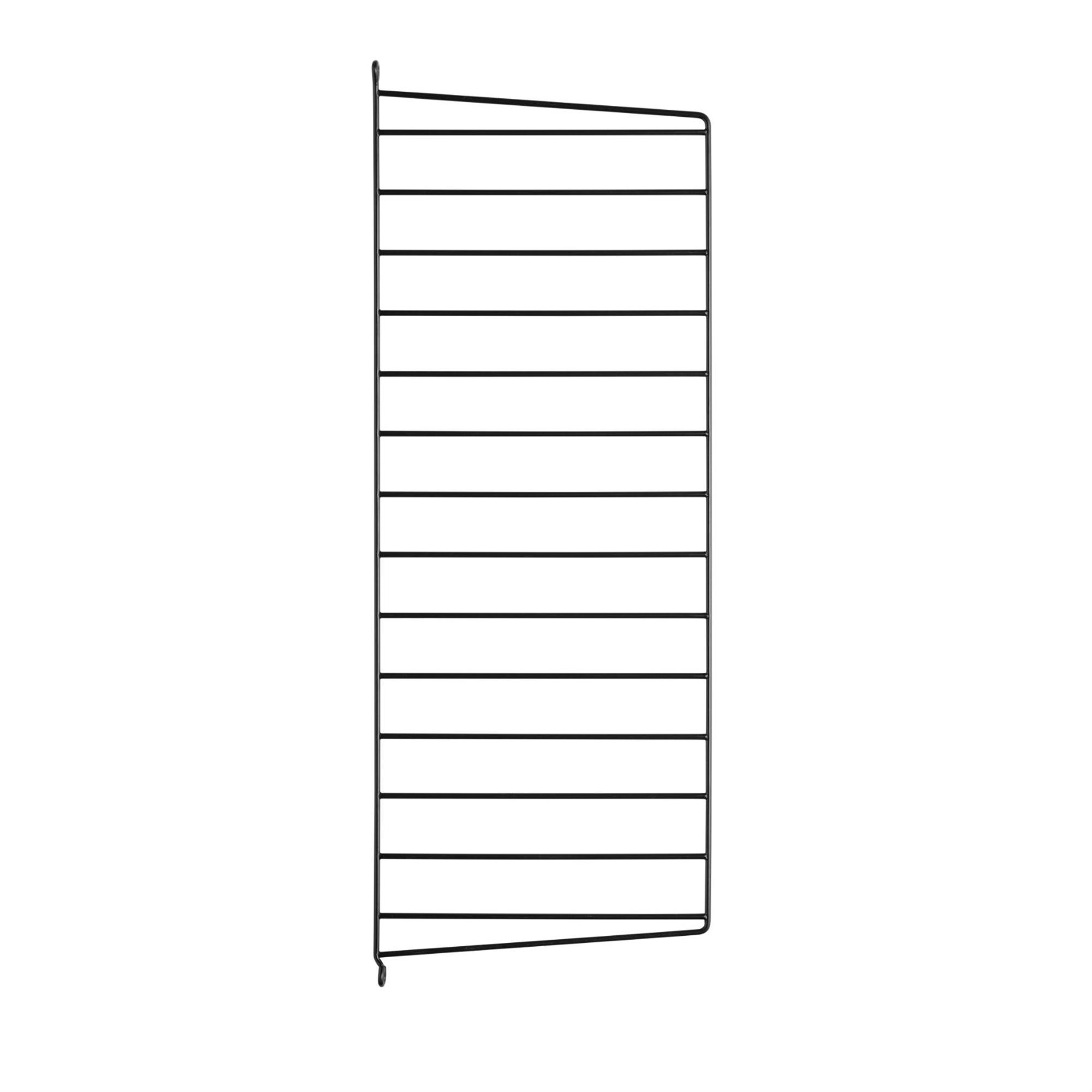 String Väggavel 75x30 1-p svart