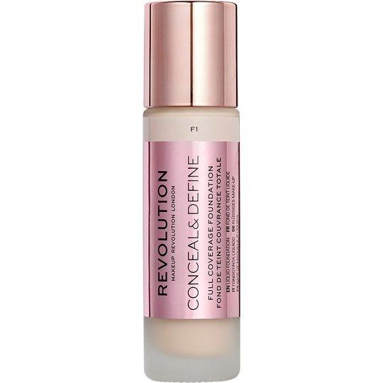Conceal & Define Foundation, Makeup Revolution Meikkivoide