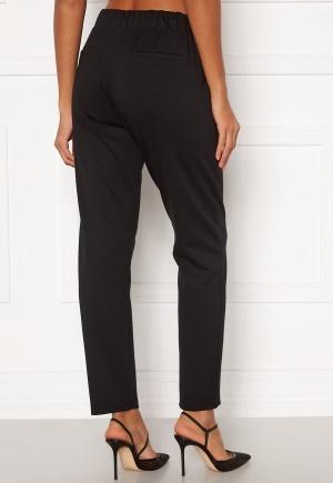 Happy Holly Mathilda high waist tricot pants Black 36/38