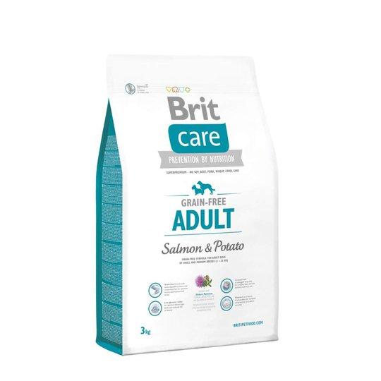 Brit Care Grain-free Adult Salmon & Potato (3 kg)