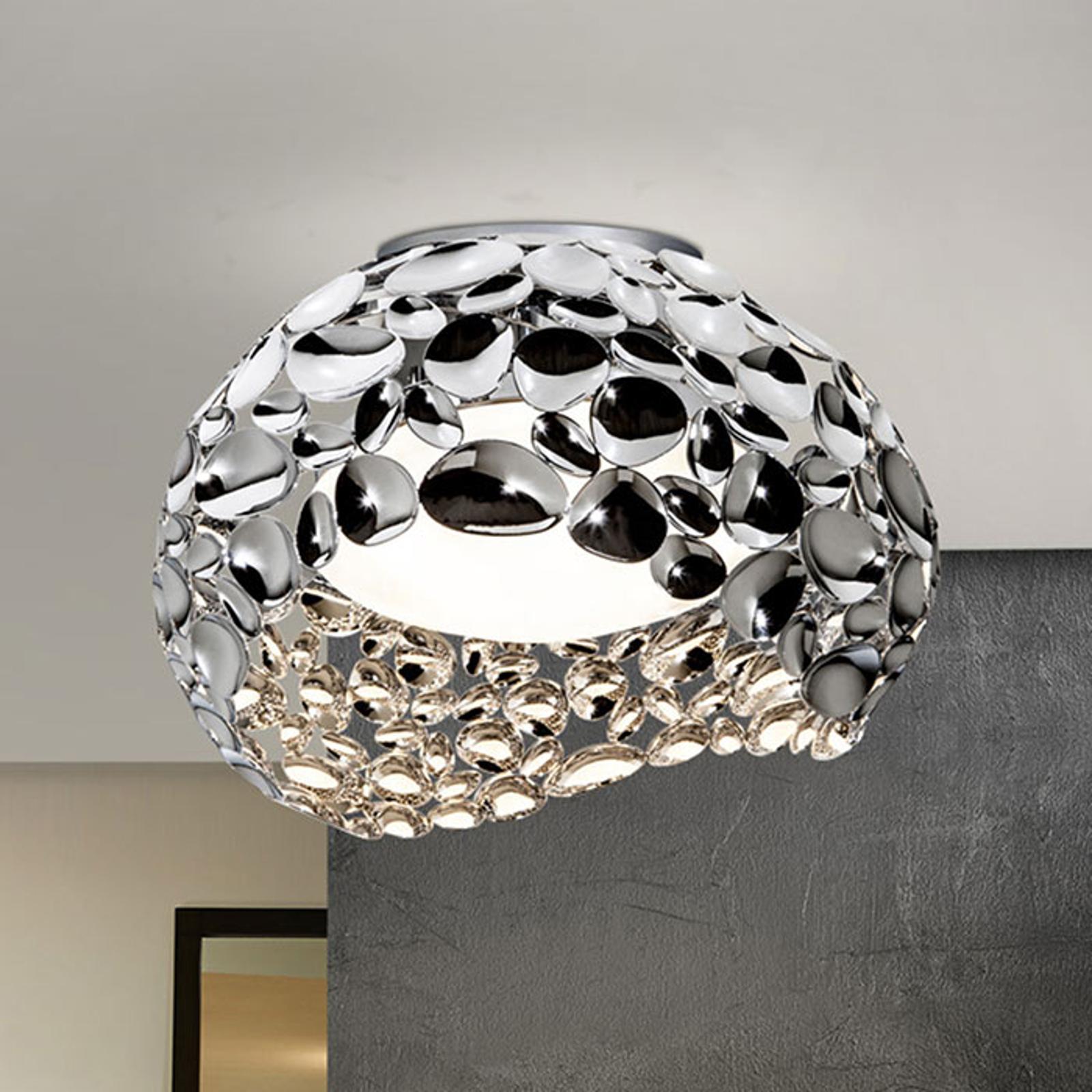 LED-kattovalaisin Narisa, Ø 46 cm, kromi