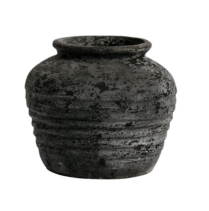 Muubs - Melancholia Jar 30 cm - Metallic Black (8470000188)