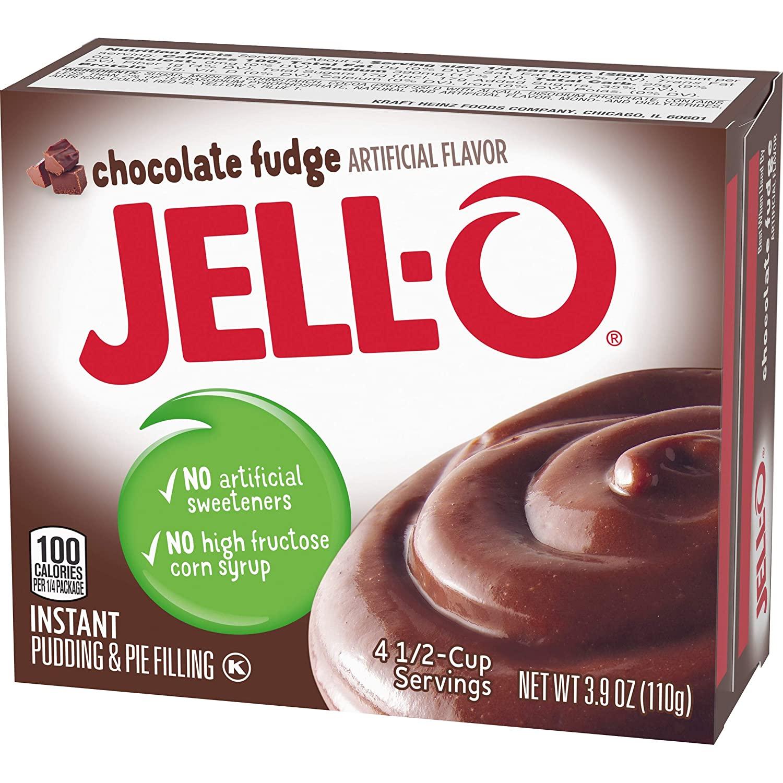 Jello Instant Pudding Mix - Chocolate Fudge 110g