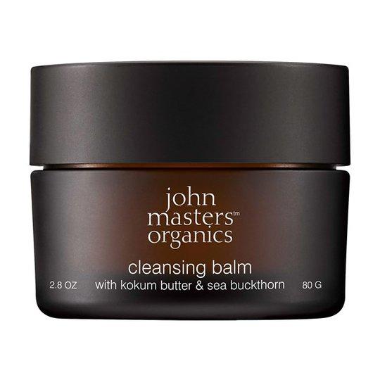 John Masters Organics Cleansing Balm with Kokum Butter & Sea Buckthorn, 80 g