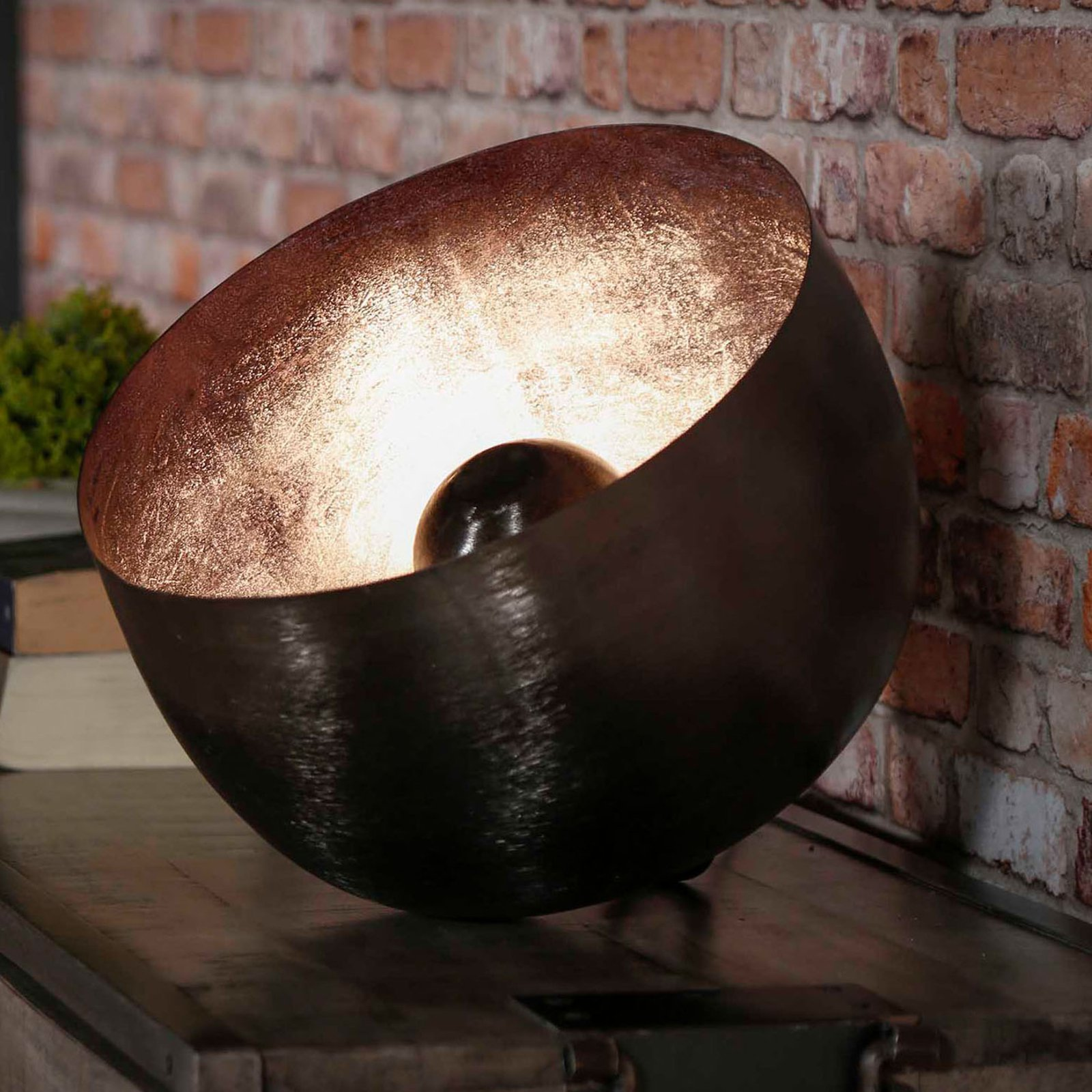 Bordlampe Basket Light, Ø 36 cm