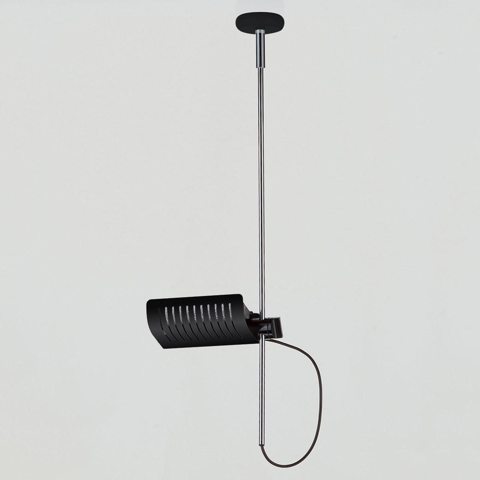 Designer-vegglampe Colombo 885, svart