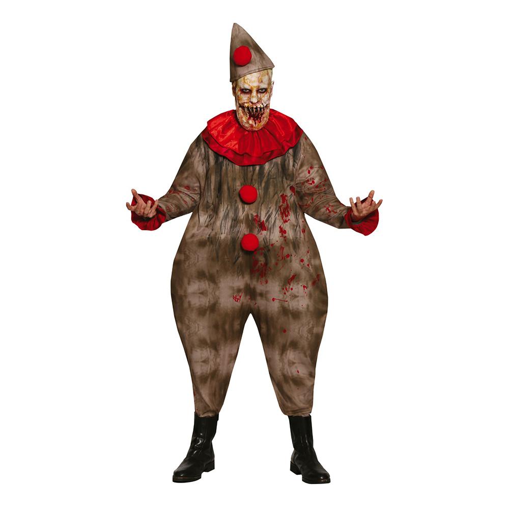 Kuslig Clown Maskeraddräkt - Medium