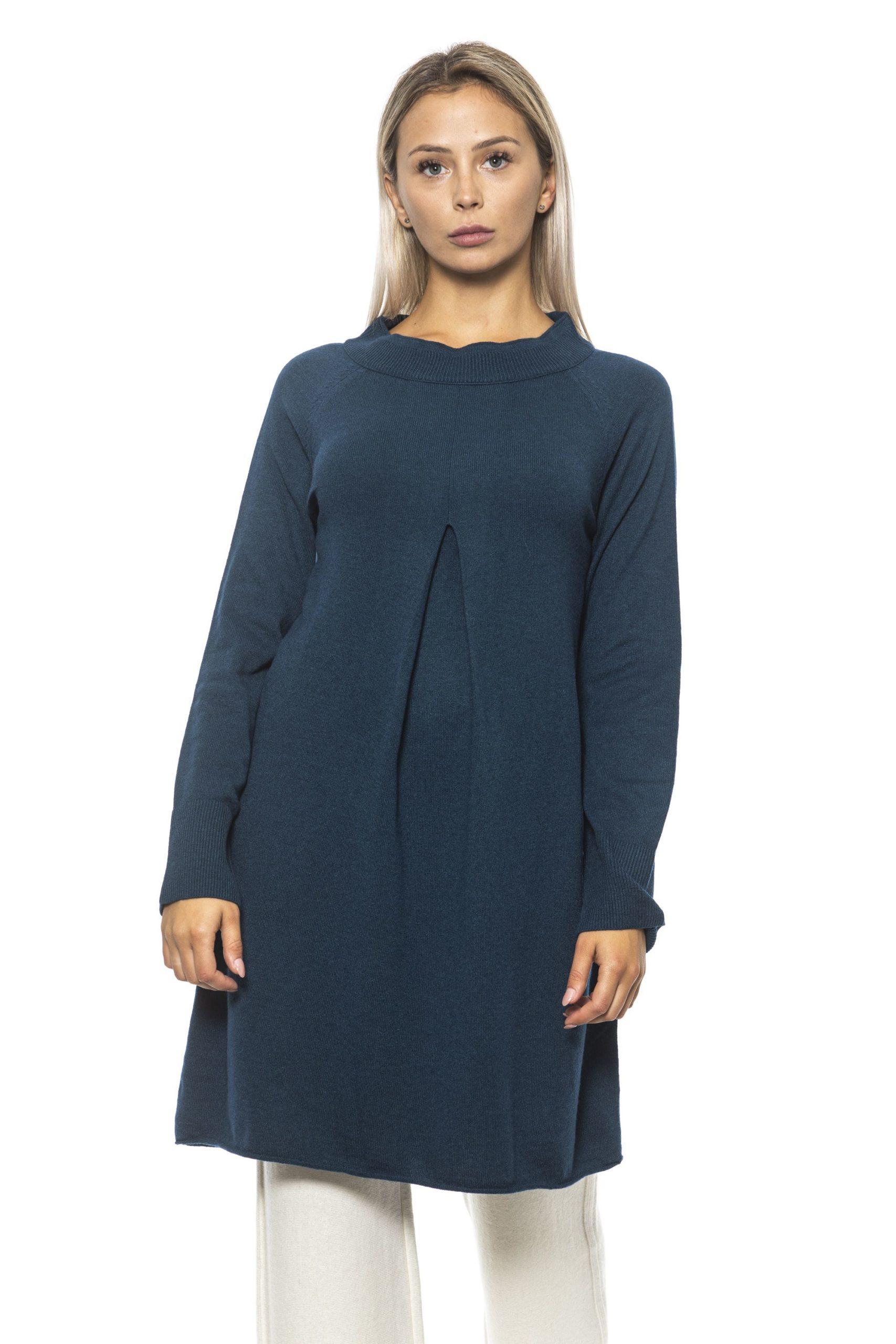 Alpha Studio Women's Bluspecial Dress Blue AL1314693 - IT42 | S