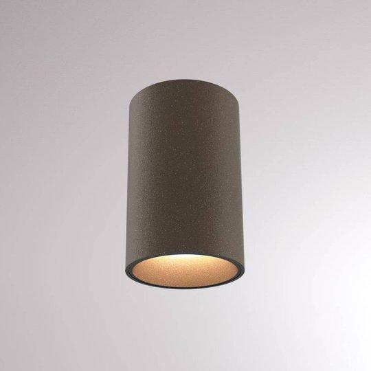LOUM Atus Round LED-taklampe terra