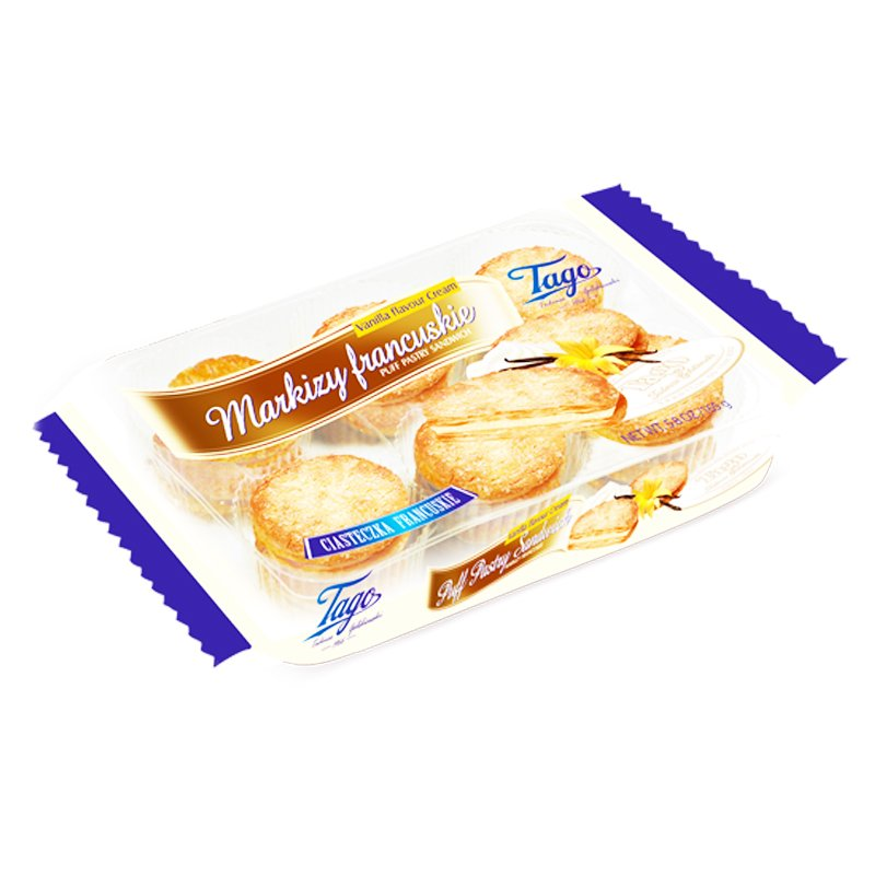 "Keksi ""Sandwich"" Vaniljakreemi 165 g - 62% alennus"