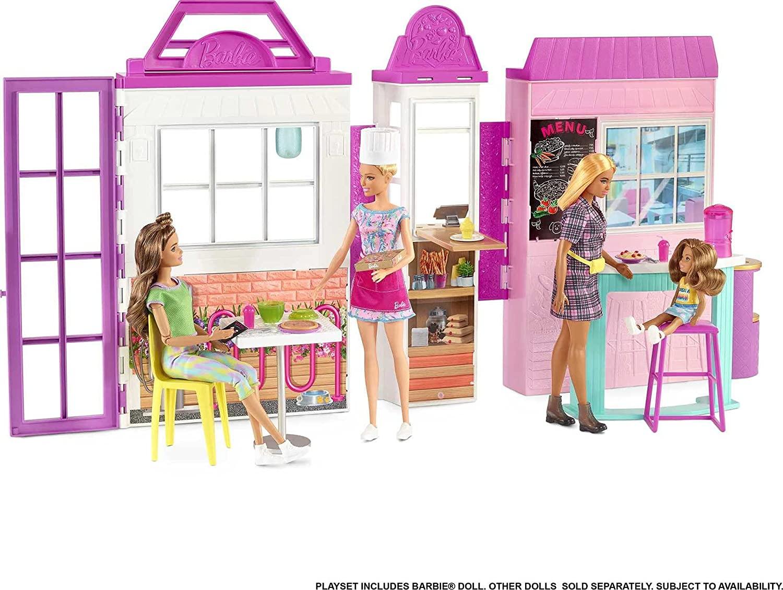 Barbie - Restaurant w/ Doll (HBB91)