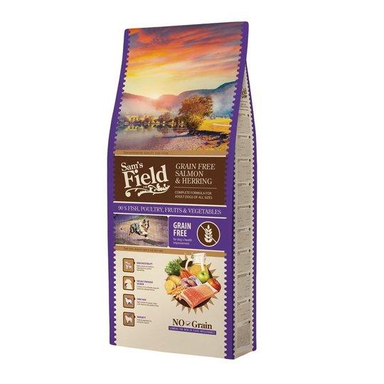 Sam's Field Adult Grain Free Salmon & Herring (13 kg)