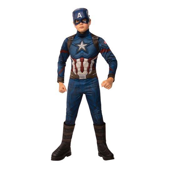 Captain America Barn Maskeraddräkt - Small