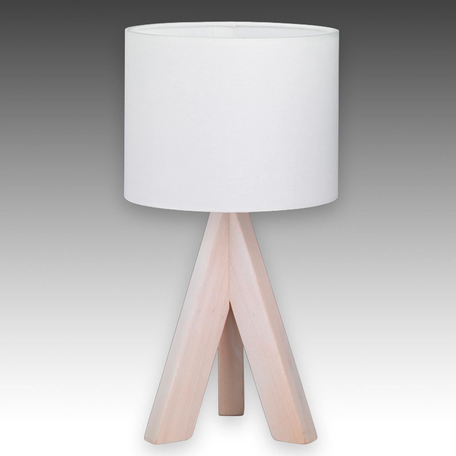 Kolmijalkainen pöytälamppu Ging
