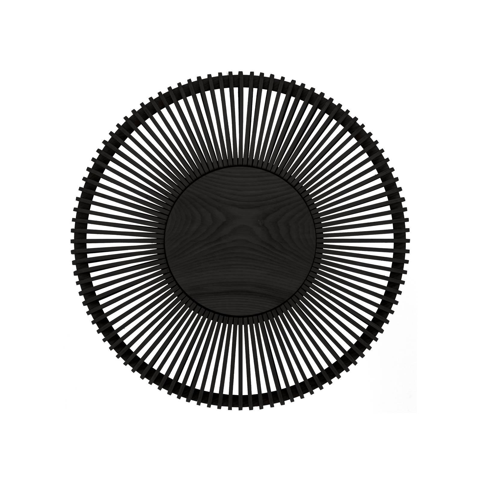 UMAGE Clava up -seinälamppu Ø 49 cm, musta puu