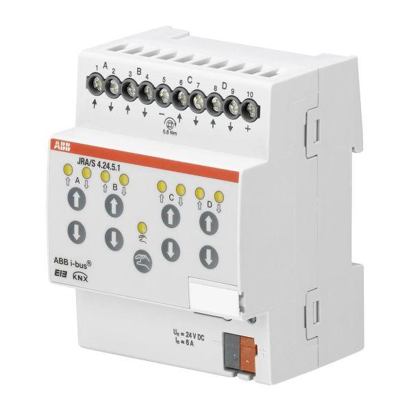 ABB 2CDG110128R0011 Verhomoottoriohjain 24 V, ajan tunnistus, 4 lähtöä