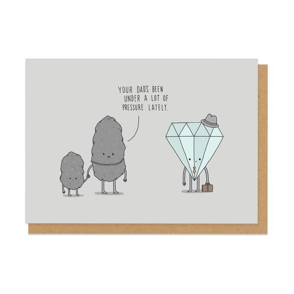 Dad Daily Grind Greeting Card