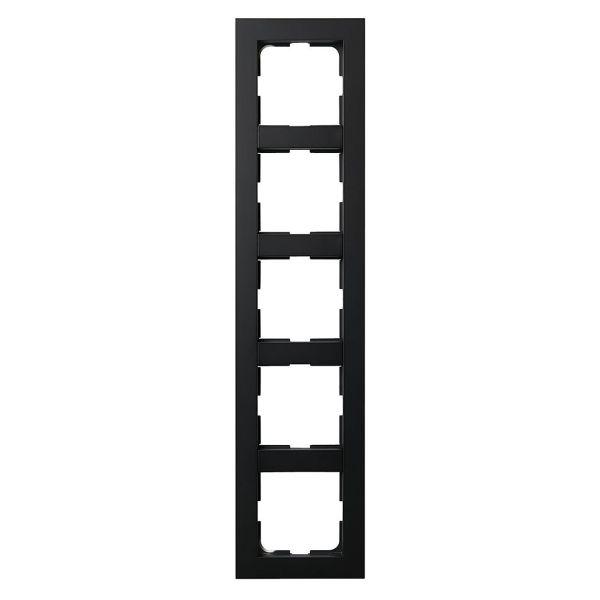 Elko Plus Kombinasjonsramme svart 5 rom