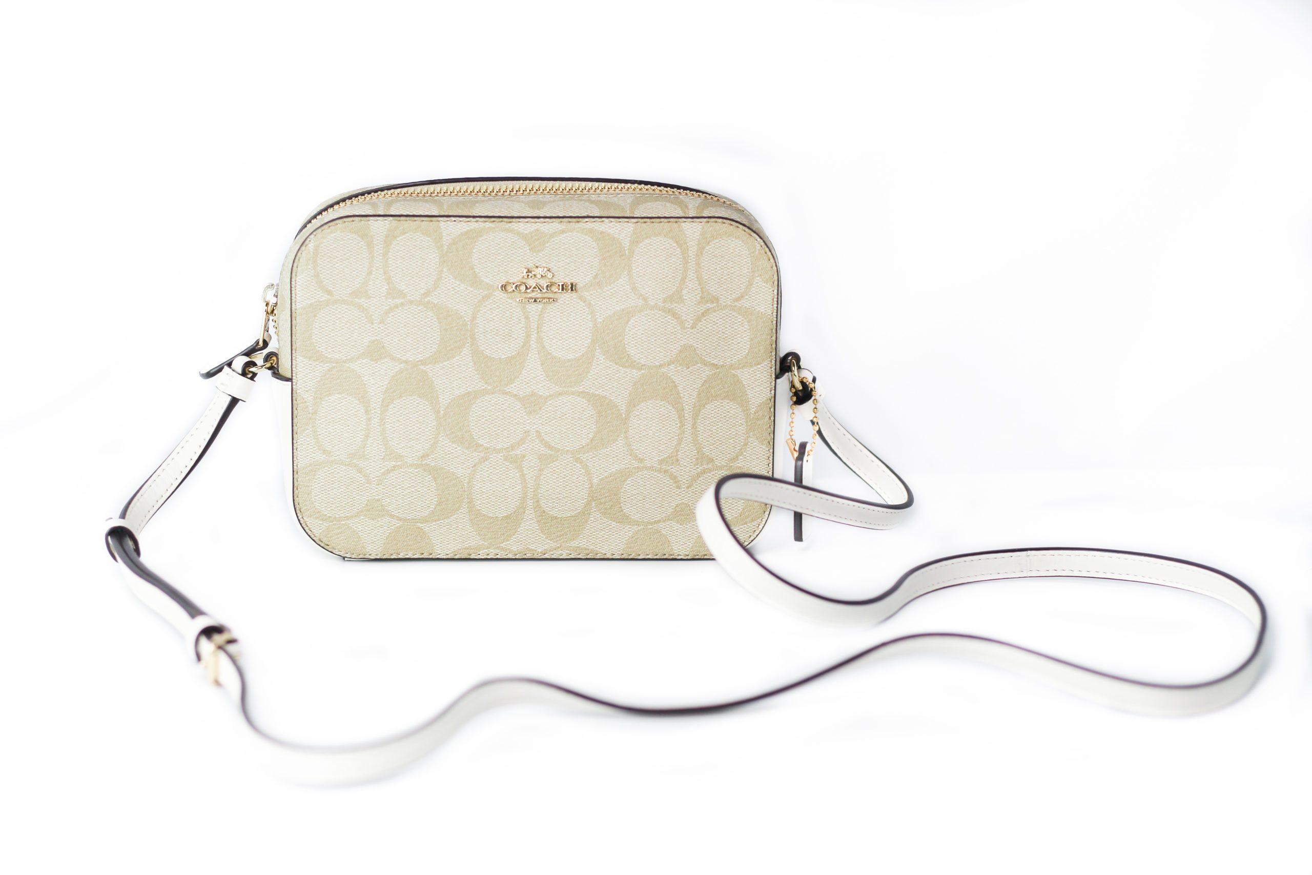 COACH Women's Crossbody Bag Khaki 72557