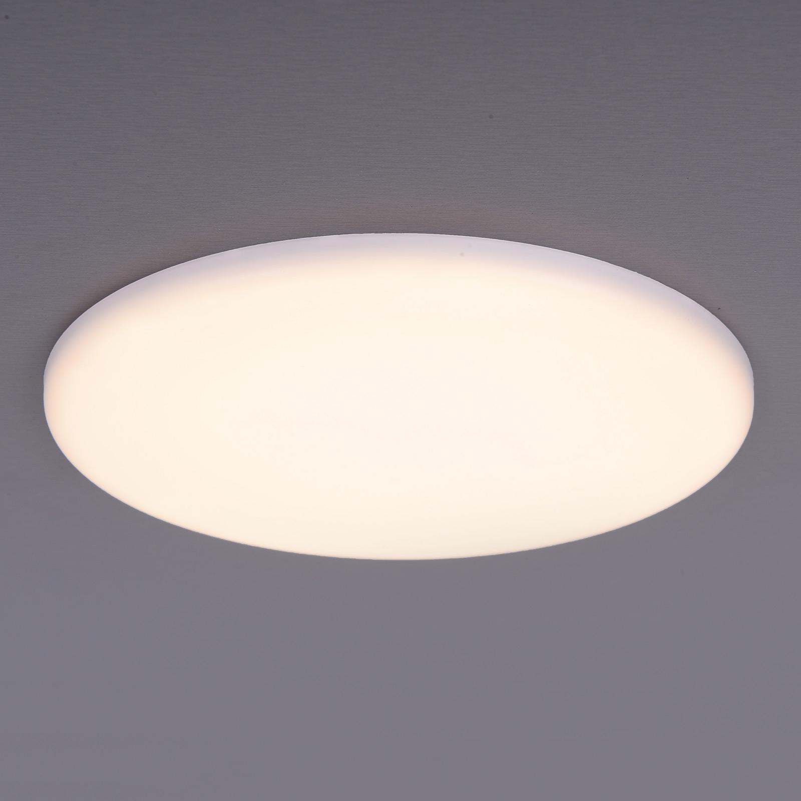 LED-uppovalaisin Sula, pyöreä, IP66, Ø 21,5 cm